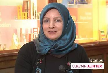 Eyüp Oyuncak Ustası Şennur Ülker ÜLKE TV, Ülkenin Alın Teri programında